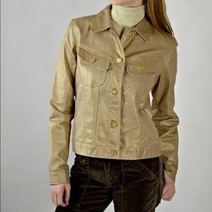 Ralph Lauren Jeans Co. Metallic Denim Jacket